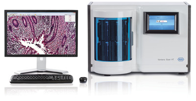 VENTANA iSCAN HT slide scanner. Empowering efficient laboratory workflow.  (PRNewsFoto/Ventana Medical Systems, Inc.)
