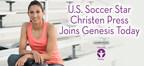 U.S. Soccer Star Christen Press