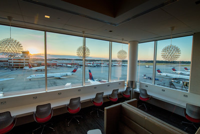 Delta Unveils Flagship Delta Sky Club at Atlanta Concourse B