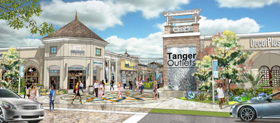 Tanger Outlets Charlotte Rendering 1.  (PRNewsFoto/Tanger Factory Outlet Centers, Inc.)