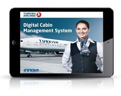 Innova Digital Cabin Management System (PRNewsFoto/Innova)