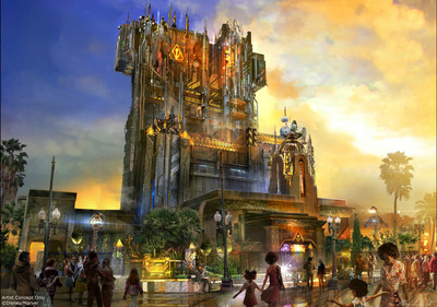 Guardians of the Galaxy - Mission: BREAKOUT! -- Debuting in summer 2017, Guardians of the Galaxy - Mission: BREAKOUT! will take Disney California Adventure park guests through the fortress-like museum of the mysterious Collector, who is keeping his newest acquisitions, the Guardians of the Galaxy, as prisoners. Guests will board a gantry lift which launches them into a daring adventure as they join Rocket Raccoon in an attempt to set free his fellow Guardians. The new attraction will transform the structure currently housing The Twilight Zone Tower of Terror(TM) into an epic new adventure. (Disneyland Resort)
