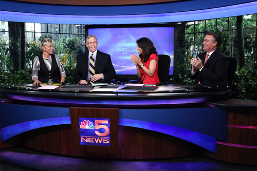 Ellen DeGeneres Took Over NBC Chicago During Live Evening Newscast, Kicking Off TBS Presents a