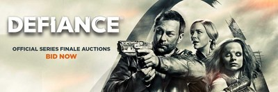 VIP Fan Auctions is proud to announce they are exclusively auctioning collectables from Syfy's groundbreaking series DEFIANCE.