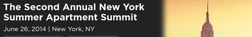 The Second Annual New York Summer Apartment Summit will bring together all of NYC's multifamily executives under one roof, including 400+ commercial real estate investors, debt sources, equity sources, developers and service providers who seek new ...