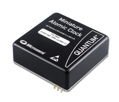 As one of the industry's smallest, lightest and highest-performing MACs, Microsemi's Quantum(tm) Rubidium Miniature Atomic Clock (MAC) SA.3X family is based on the company's exclusive coherent population trapping technology, leveraging its timing solution leadership.