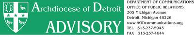 Masthead Banner.  (PRNewsFoto/Archdiocese of Detroit)
