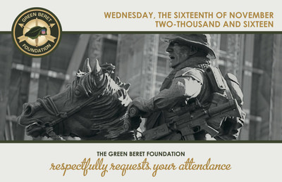 Green Beret Foundation Honors Members of its Community at a Special NY City Event