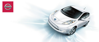 The Nissan Leaf is gaining momentum in the Seattle area. (PRNewsFoto/Nissan of Auburn)