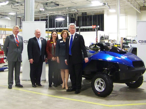 U.K. Minister of State for Business and Energy Visits Gibbs Sports Amphibians U.S. Headquarters