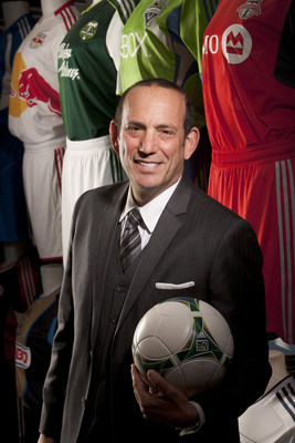 Don Garber, Commissioner, Major League Soccer and Chief Executive Officer, Soccer United Marketing. (PRNewsFoto/Broadcasting & Cable and...)
