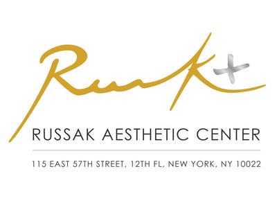 Russak+ Aesthetic Center logo