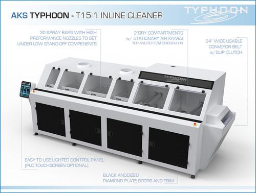 AKS Typhoon T15 Inline Cleaner Infographic (PRNewsFoto/Valtronic)