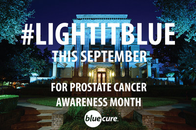 Houston's University of St. Thomas lights blue this month, joining hospitals and landmarks across the country in recognition of September's Prostate Cancer Awareness Month. Blue Cure Foundation leads the push to light further iconic buildings blue through the month.