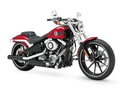 The 2013 Harley-Davidson Breakout motorcycle.  (PRNewsFoto/Harley-Davidson Motor Company)