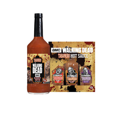 This October All-Natural Meets The Unnatural With The Launch Of Tabañero's Line Of The Walking Dead Hot Sauces & Bloodiest Mary Mix