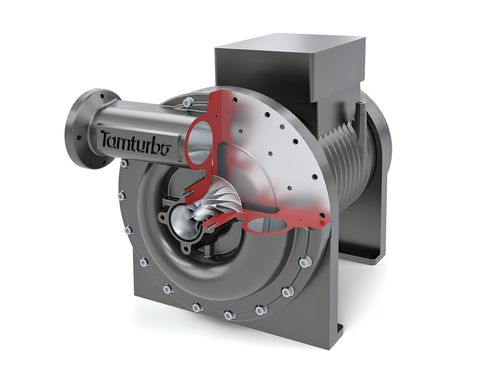 Tamturbo direct drive oil-free air turbo compressor