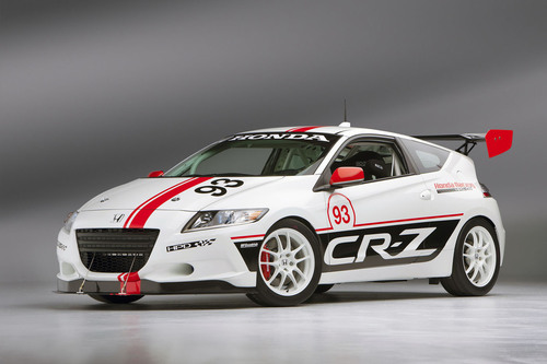 Honda's HPD CR-Z Racer is just one of 10 entries Honda will field in the 2013 Pikes Peak International Hill  ...