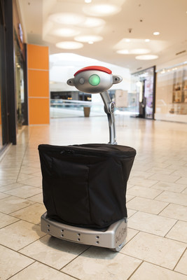 Budgee the Friendly Robot - follows you and carries your things.  Now shipping to consumers around the world.