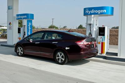 Hydrogen refueling network expands in Southern California.  (PRNewsFoto/American Honda)