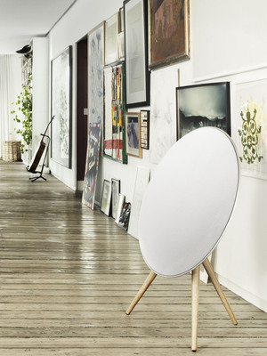 B&O PLAY's all new BeoPlay A9 wireless speaker system. (PRNewsFoto/Bang & Olufsen/B&O PLAY)