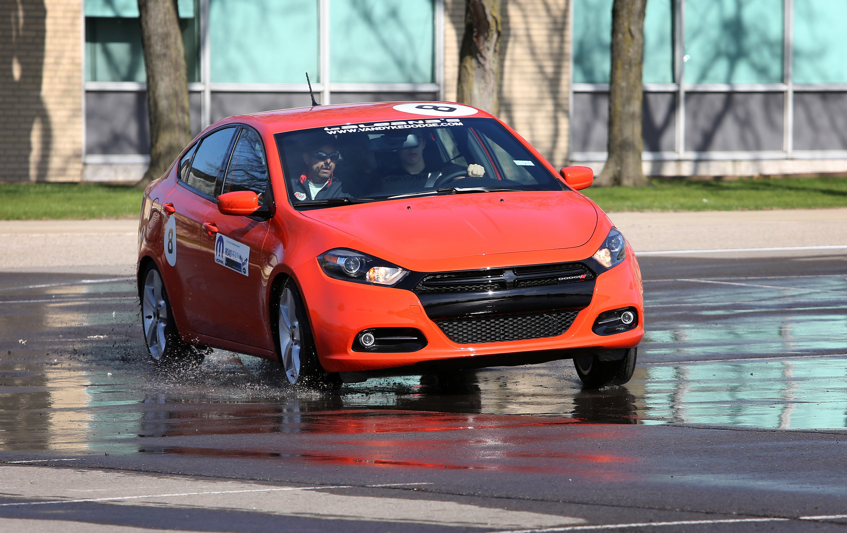"""The """"Mopar Road Ready Powered by Dodge"""" teen defensive driving program is returning to Center Line, Michigan, for its third and fourth stops in the Metro Detroit area. Parents can register their teens for events on April 30-May 1 or May 14-15 at www.mopar.com/road-ready/register."""