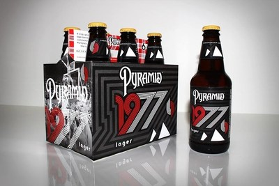Pyramid Breweries today announced the launch of its 1977 Lager in commemoration of the Portland Trail Blazer's 1977 title run. 1977 is a crisp, bright golden lager with sweet malt notes of bread and toast, and a spicy, herbal hop finish.