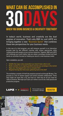 LAPIZ and Business Models Inc. Announce Business Innovation Workshop.
