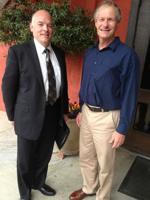 Madera County Sheriff Candidate Jay Varney Endorsed by Madera Mayor Robert Poythress.  (PRNewsFoto/Jay Varney)