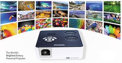 Display an array of vibrant images with the new AAXA M5 Mini Projector