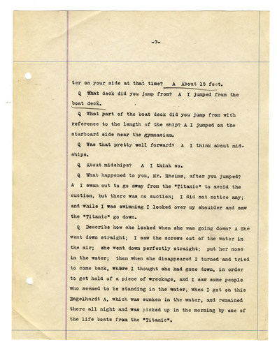 Newly Published Titanic Court Documents Reveal the Disaster