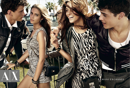 A|X Armani Exchange Enlists Fashion Icon, Kate Lanphear to Turn Up the Style With Spring 2011