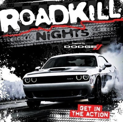 """ROADKILL Nights """"Powered by Dodge"""" takes place August 12th at the Pontiac Silverdome."""