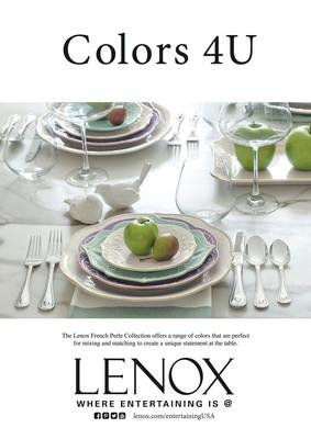 Lenox Corporation Celebrates 125 Years Of American Style, Design And Craftsmanship
