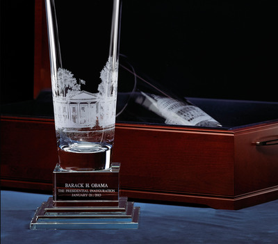 2013 Lenox Inaugural Gift to President Obama and Vice President Biden.
