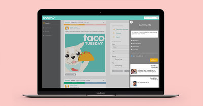 Sharelov is a new social media management platform that optimizes the collaboration process of agencies and marketers to help them produce better campaigns. The cloud based service allows content creators to design, review, send feedback and publish social media campaigns across social networks. Sign up today for a free trial at www.sharelov.com