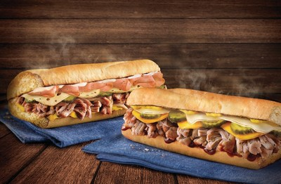 Quiznos is celebrating the start of the summer season by bringing back thesweet smells of barbecue with the Southern BBQ Pulled Pork Sub and QuiznosCuban Sub. Both menu items will be offered for a limited time beginning inJune and will run through the summer months.