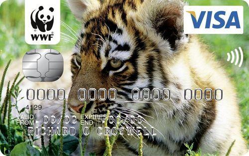 The WWF Credit Card (PRNewsFoto/MBNA Limited)