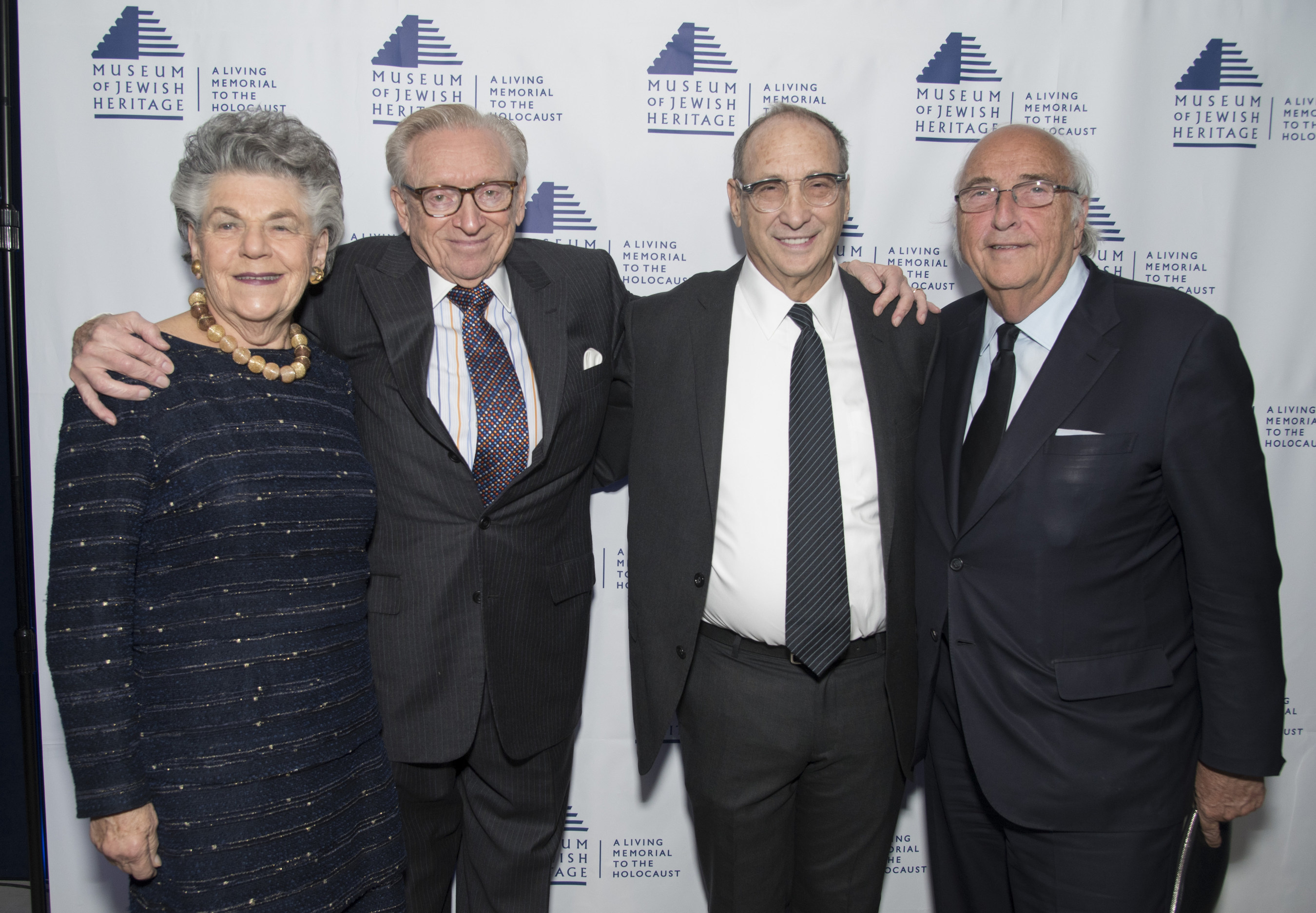 The inaugural luncheon of the Museum of Jewish Heritage - A Living Memorial to the Holocaust Real Estate and Allied Trades Division on October 27 honored Larry Silverstein and his family for their exemplary commitment to the Museum and leadership in rebuilding Lower Manhattan. The event raised over $3.2 million.