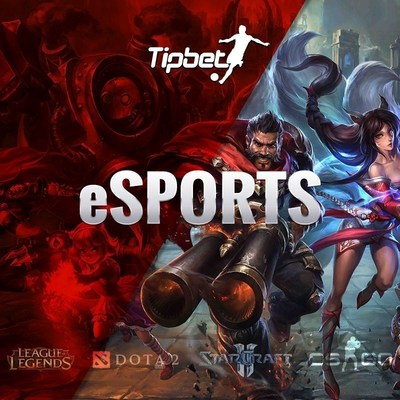 Tipbet startet mit eSports Wettangebot (PRNewsFoto/Tipbet Ltd)