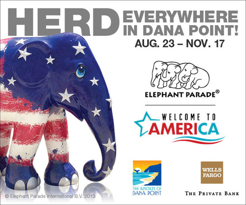 Wells Fargo Private Bank Named Grand Patron of Elephant Parade: Welcome to America