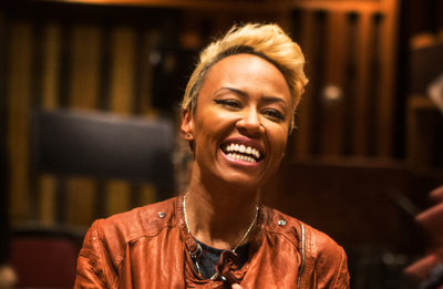 Emeli Sande' During Lincoln Journey Content Series Shoot