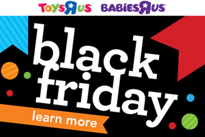 "Toys""R""Us Reveals Thanksgiving Weekend and Black Friday Deals"
