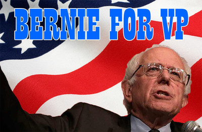 BernieForVicePresident.org Launches to Prove That a Hillary/Bernie Unity Ticket Will Win in November