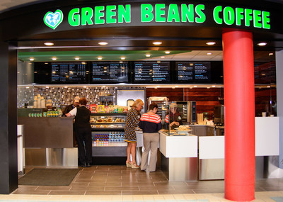 Green Beans Coffee Brings Premium Coffee, Freshly Prepared Foods to the AIRMALL® at Pittsburgh International Airport