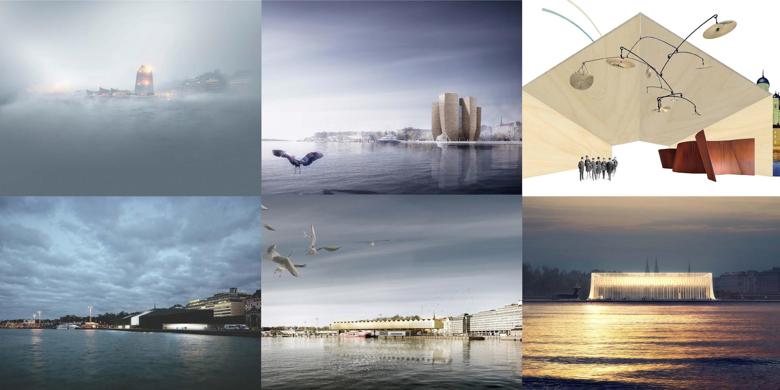 Обнародованы имена финалистов конкурса дизайн-проектов музея Гуггенхайма в Хельсинки
