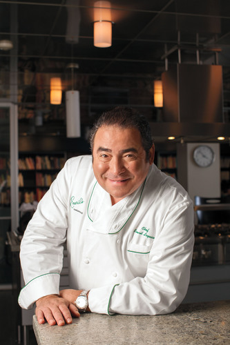 Emeril Lagasse is scheduled to appear on QVC Wednesday, October 16.  (PRNewsFoto/QVC, Inc.)
