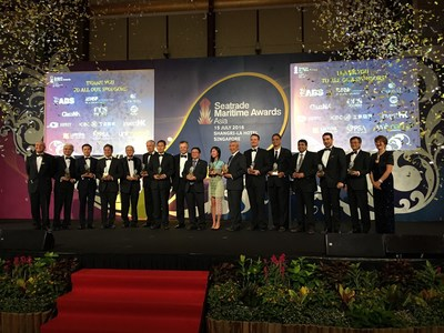Seatrade Announces Winners of the 9th Seatrade Maritime Awards Asia