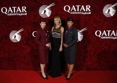 Giuliana Rancic emcees Qatar Airways' Boston launch gala event
