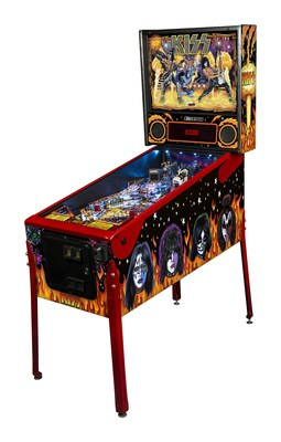 Stern Pinball Joins The KISS Army With Its Release Of KISS Pinball
